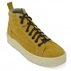TSF Girls  Party Wear Leather Boot   (Yellow)