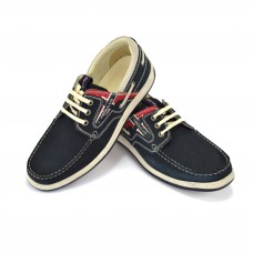 TSF Casual Lace-Up Shoes (Navy)