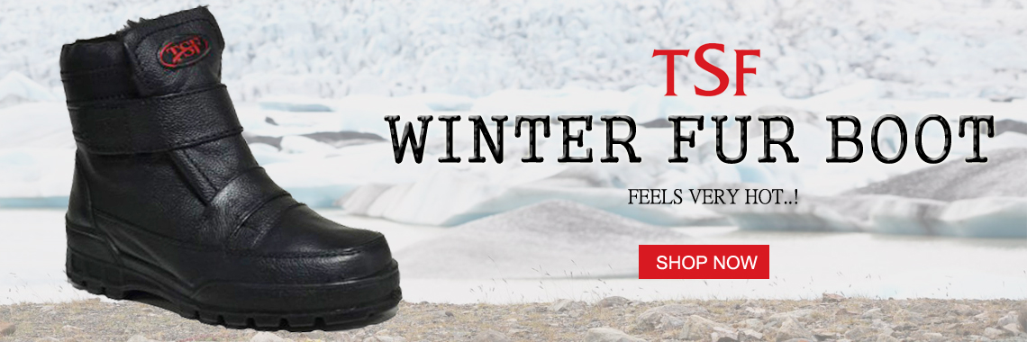 Winter fur Boot