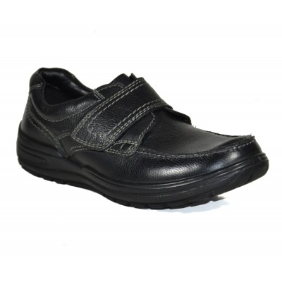 Tsf Black Casual Office Shoes