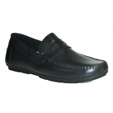 New Casual Slip-On Shoes-Black