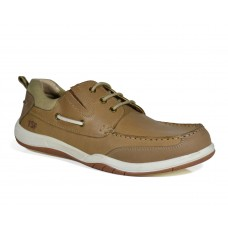 S-74023 Casual Smart Shoes( BRN)