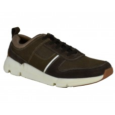 TSF Real Leather Men's Brown Sneaker