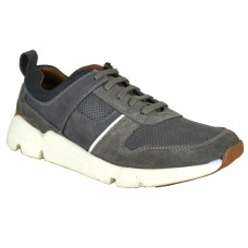 TSF Real Leather Men's Grey Sneaker