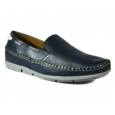 TSF Men's Casual Light Weight Slip-On Shoes (Navy)