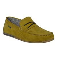 Light Weight Slip-On Loafer Shoes (yellow)