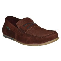 Light Weight Slip-On Loafer Shoes (Burgundy)