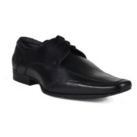 Men Formal Lace up plain Party Shoes (Black)