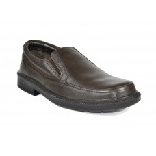 TSF Formal Office Slip-On Shoes (Brown)