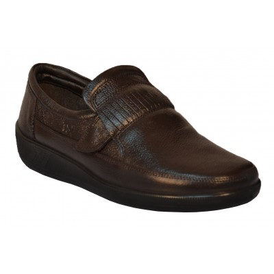 TSF Brown Formal Driving Shoes (Brown)