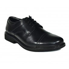 TSF New Men Formal Lace up Office  Shoes (Black)