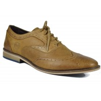 Men Formal Lace up Party Shoes (Brown)