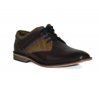 Men Formal Lace up Party Shoes (D-Brown)