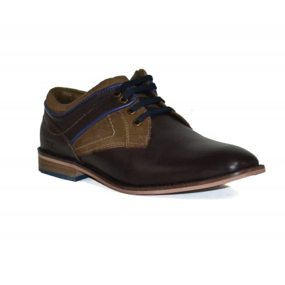 Men Formal Lace up Party Shoes (D-Brown)
