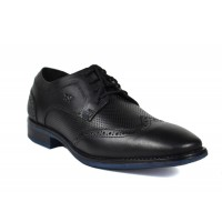 Men Formal Lace up Ofiice Shoes (Black)