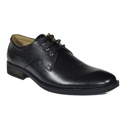 TSF New Stylish Office Formal  Shoes ( Black )