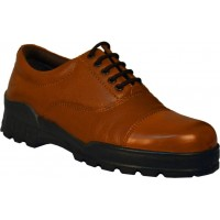 TSF Formal Laceup Police Shoes (Tan)