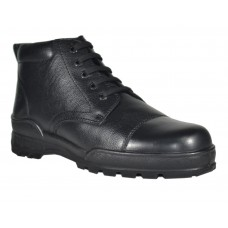 New TSF Flexible & Comfort Police Boots With Zip  (Black)