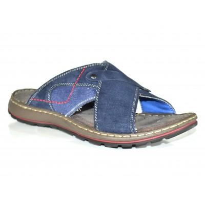 TSF Blue Slip-On Leather For Men