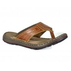 TSF Grey Slip-On Leather For Men (Tan)