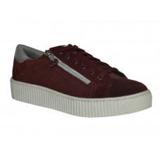 Party Wear Girl Shoes  (Burgundy)